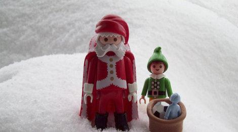Santa Claus se va al Monte de Piedad