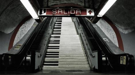 ¡En el Metro no!