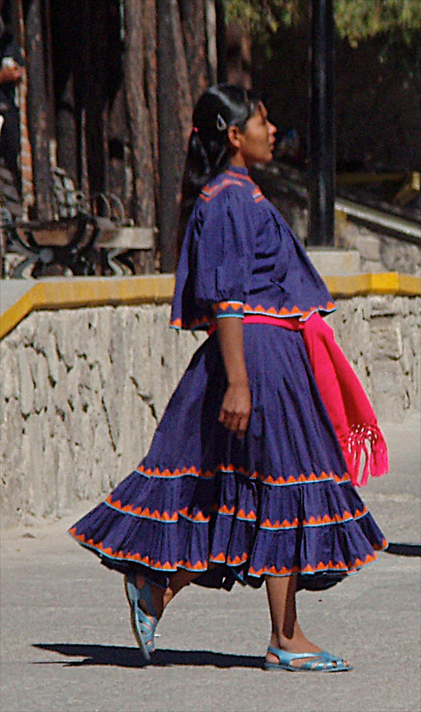 Mujer Tarahumara; Creel, Chihuahua, Mexico