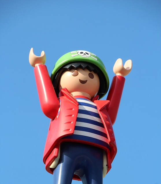 Skull And Crossbones Child Playmobil Sky