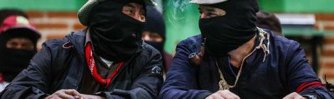 """EZLN dice """"No"""" al Tren Maya"""