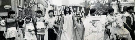 Así fue la primera marcha LGBT+ en la CDMX